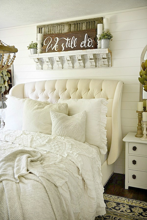 Best Farmhouse Bedroom Makeover Liz Marie Blog This Month
