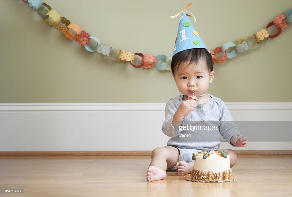 Best First Birthday Stock Photos And Pictures Getty Images This Month
