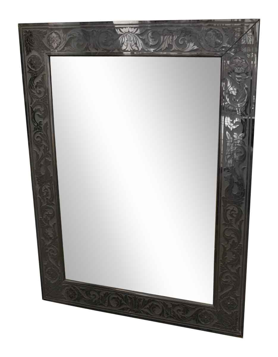 Best Black Decorative Framed Mirror Olde Good Things This Month