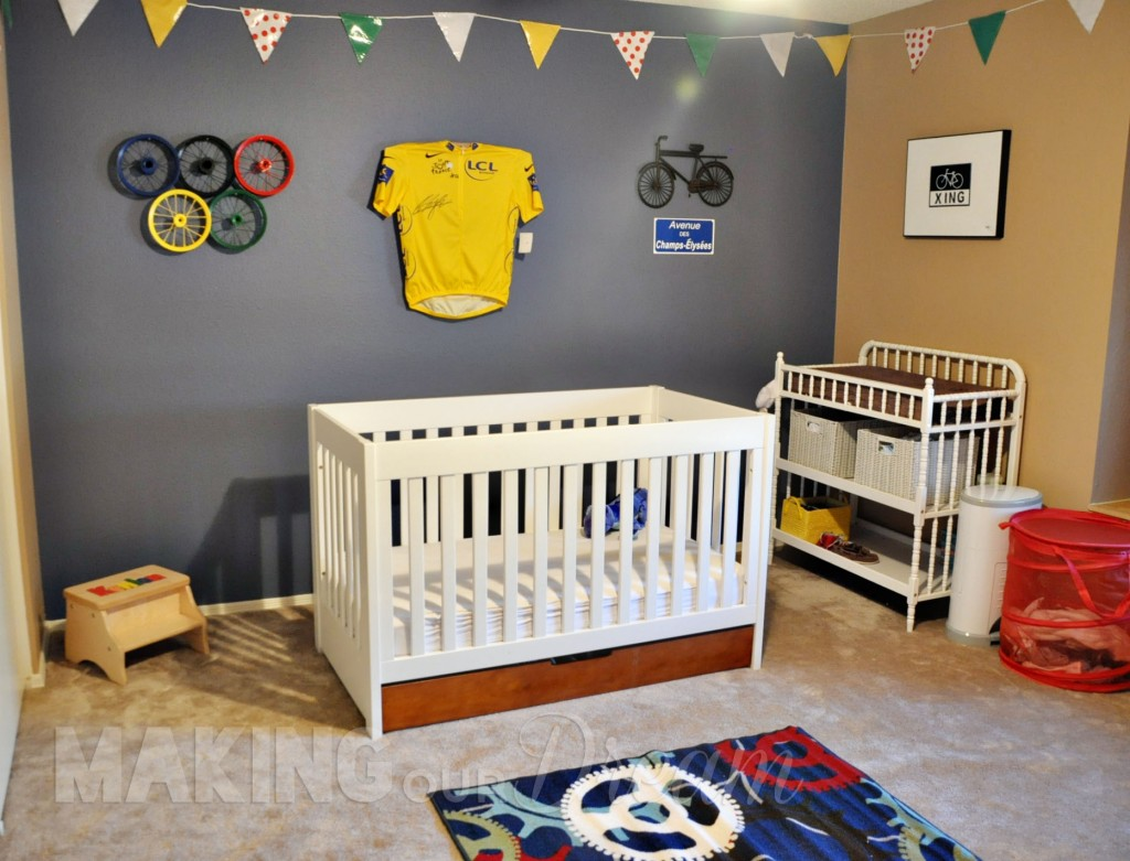 Best Bicycle Themed Boy S Nursery Inspired By Le Tour De France This Month