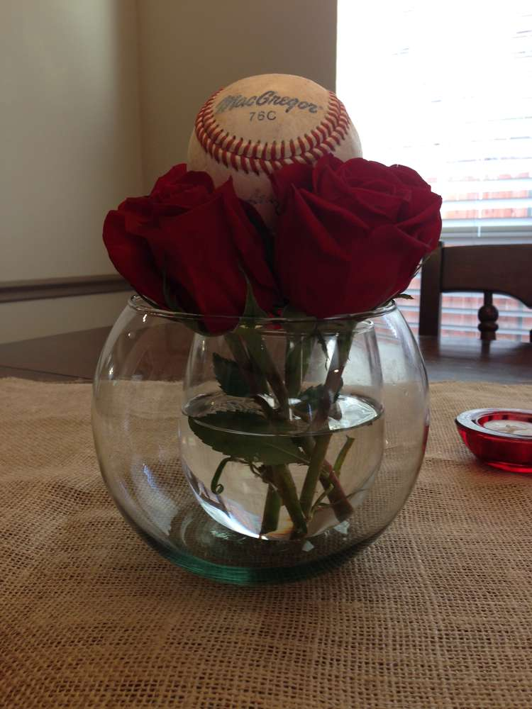 Best Vintage Baseball Baby Shower Party Ideas Photo 6 Of 14 This Month
