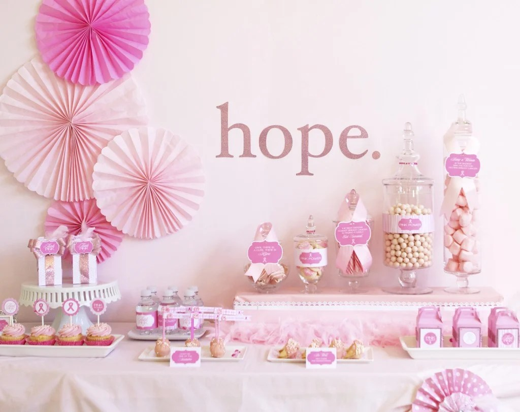Best Br**St Cancer Awareness Printables Party Ideas Pizzazzerie This Month