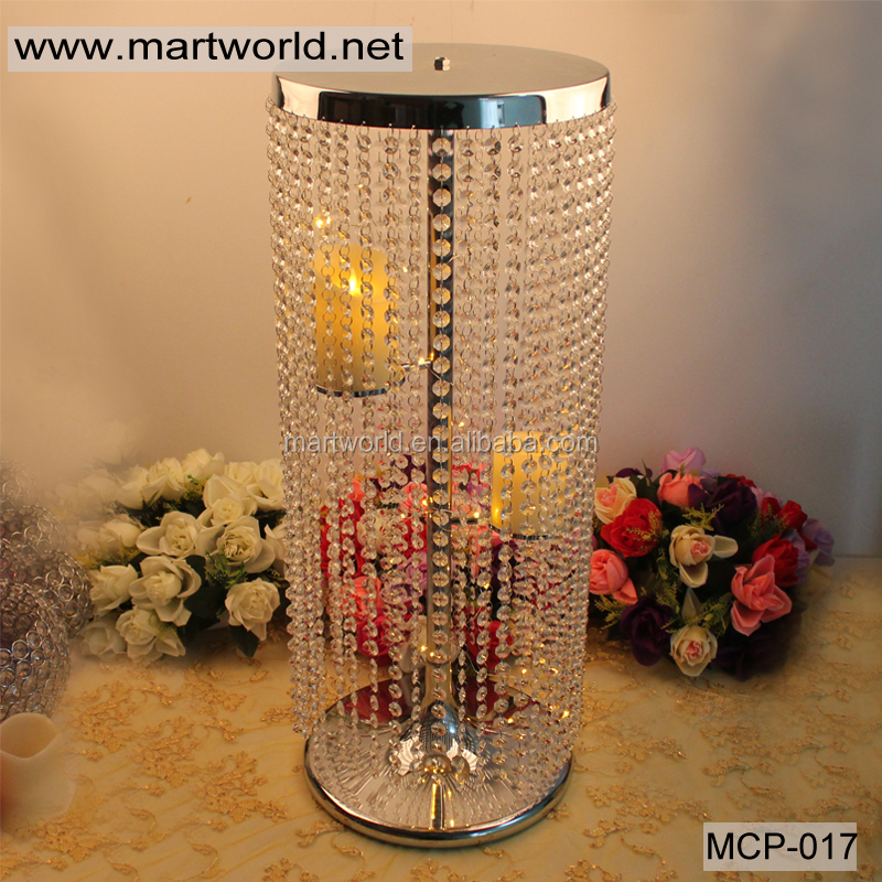 Best 2017 Bling Hanging Crystal Centerpiece Wedding Centerpiece This Month
