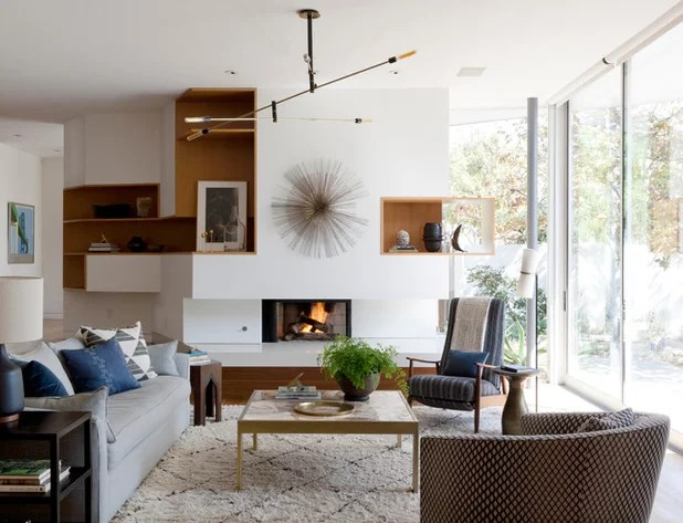 Best Houzz Tour Earthy Decor Adds Warmth To A Modern Home This Month