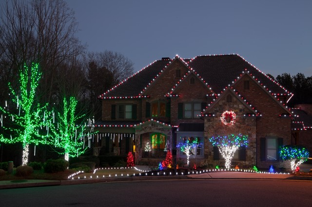 Best Led Outdoor Christmas Lighting Traditional Exterior This Month