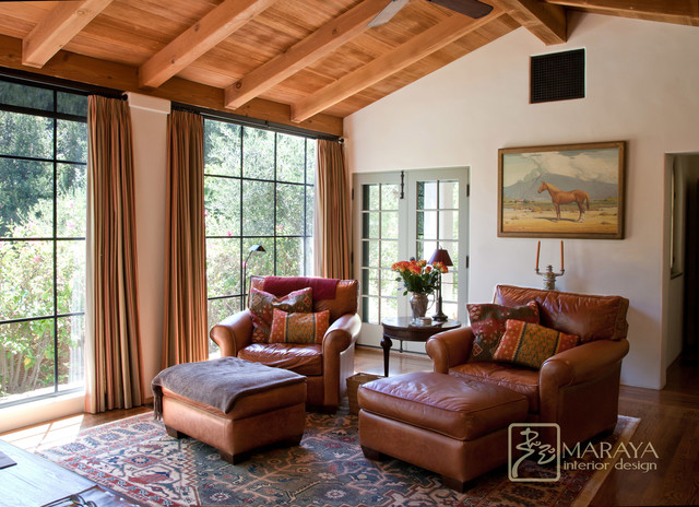 Best Old California Mission Style Sitting Room Mediterranean This Month