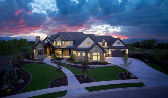 Best Front Elevation Traditional Exterior Salt Lake City This Month