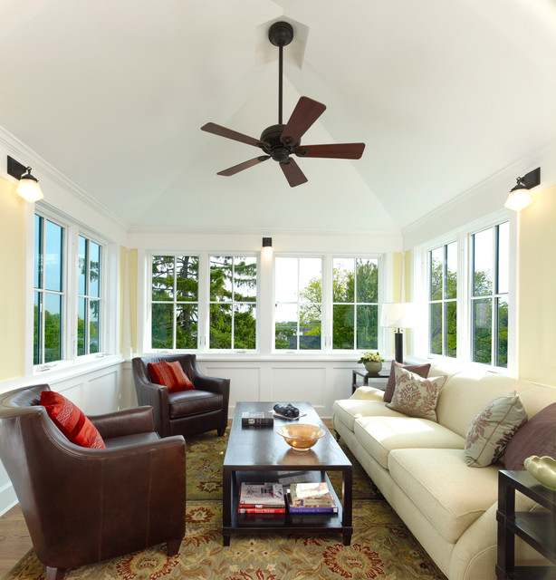 Best Urban Four Square Craftsman Sunroom Dc Metro By This Month