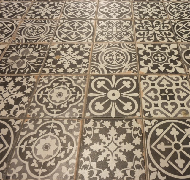 Best Vintage Decorative Tiles Sydney Mediterranean Bathroom This Month