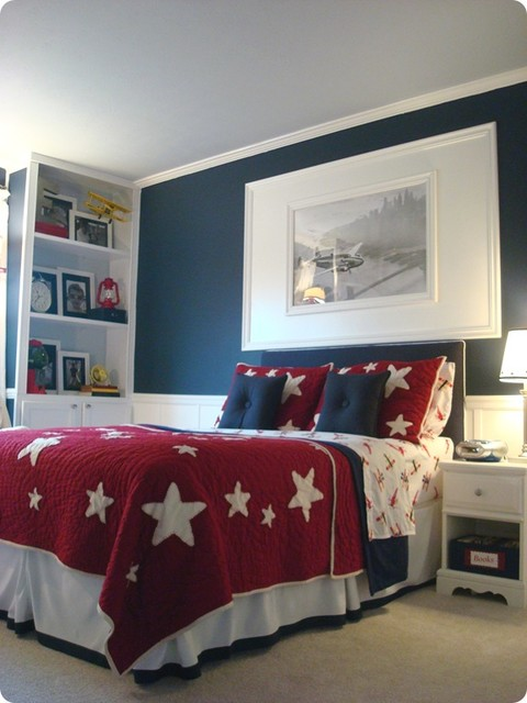 Best Boy Airplane Room Kids Indianapolis By Thrifty Decor This Month