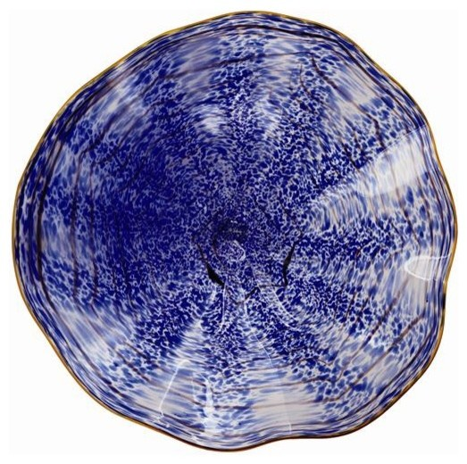 Best Coral Blue Classic Wall Art Glass Plate Contemporary This Month