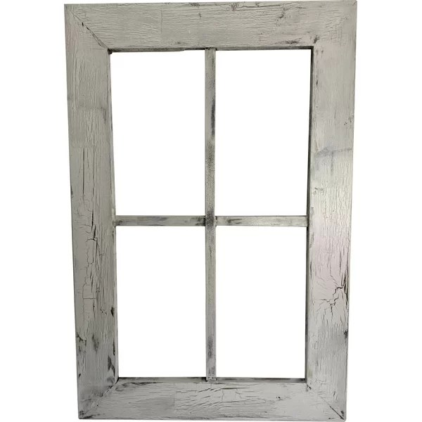 Best Fake Window Wall Decor Wood Wayfair This Month