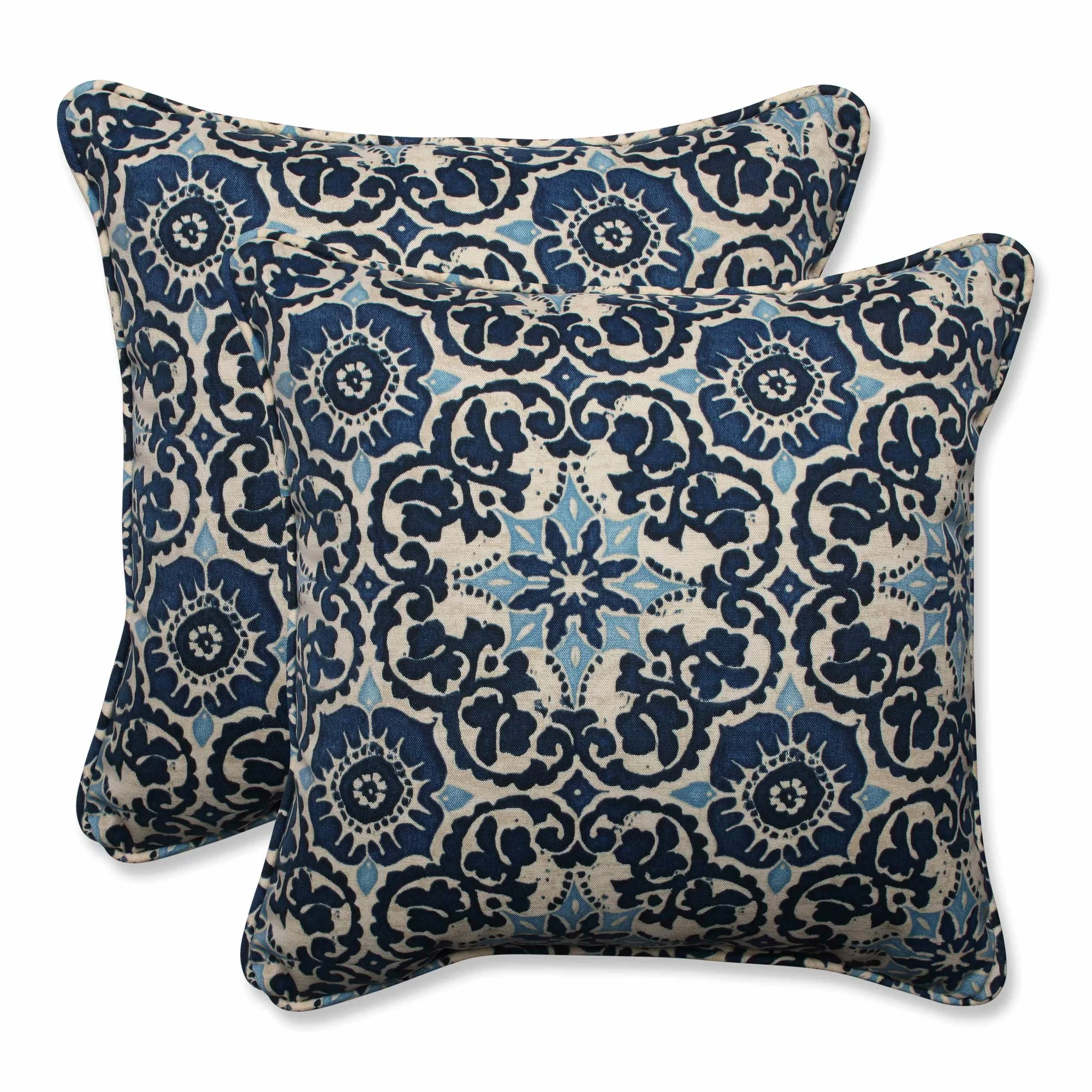 Best Pillow Perfect Woodblock Indoor Outdoor Throw Pillow This Month