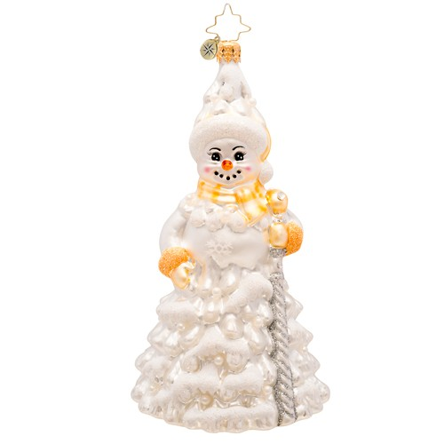 Best Christopher Radko Frosted Fir Snowman Ornament 45 You This Month