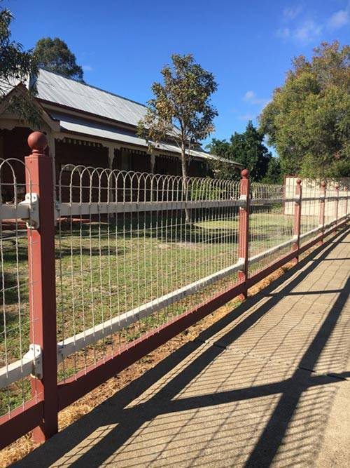 Best Decorative Wire Loop Fencing 20 Ft Roll X 4 Feet Tall This Month