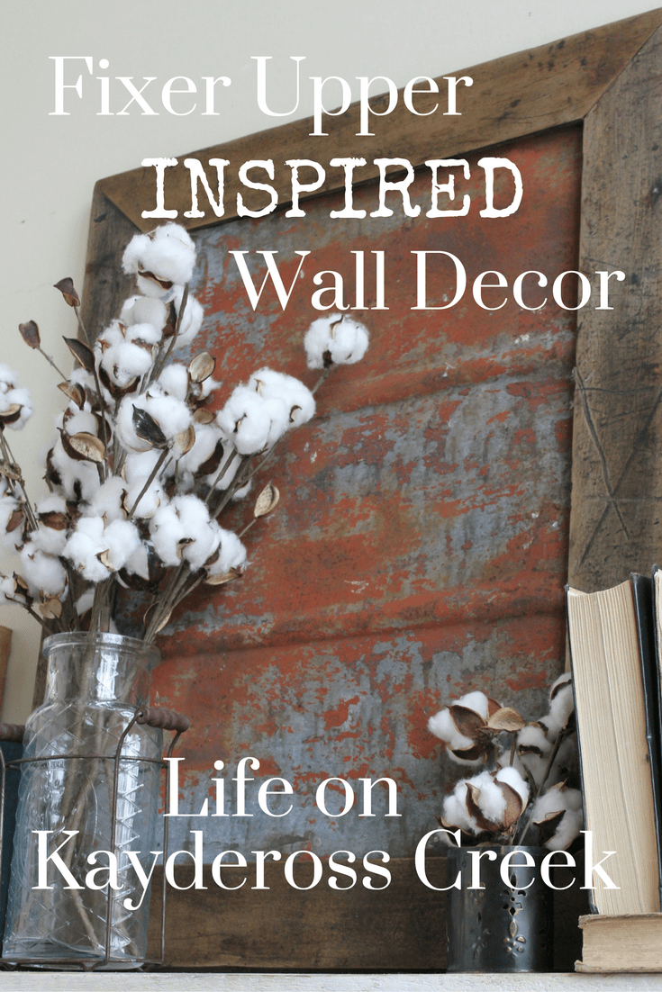 Best Fixer Upper Inspired Metal Wall Decor Life On Kaydeross This Month