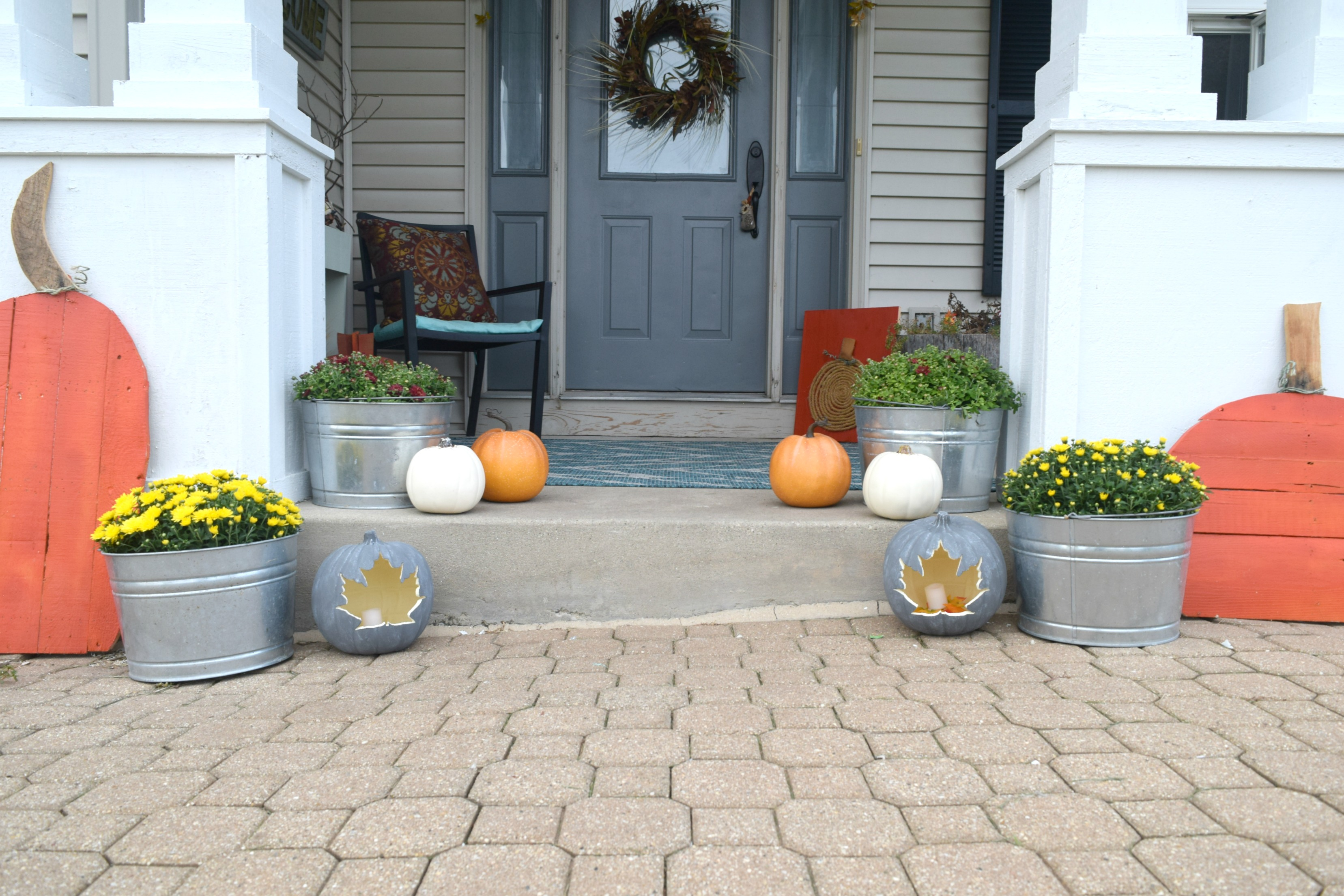 Best Diy Pumpkin Craft Simple Project For Fall • Our House Now This Month
