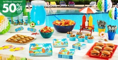 Best Beach Party Theme Beach Themed Party Supplies Party City This Month