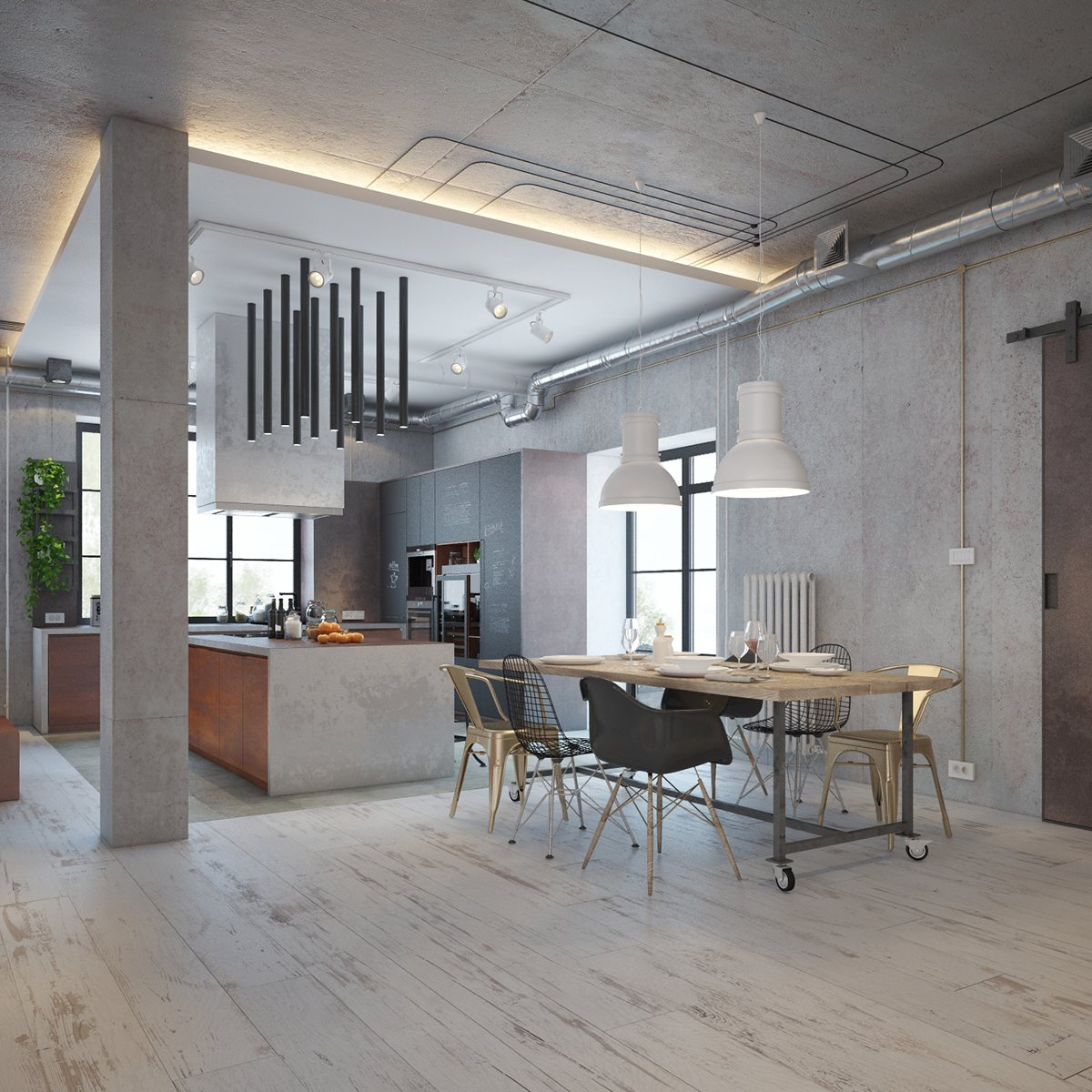 Best Industrial House Design And Decor For Stylish Appearance This Month