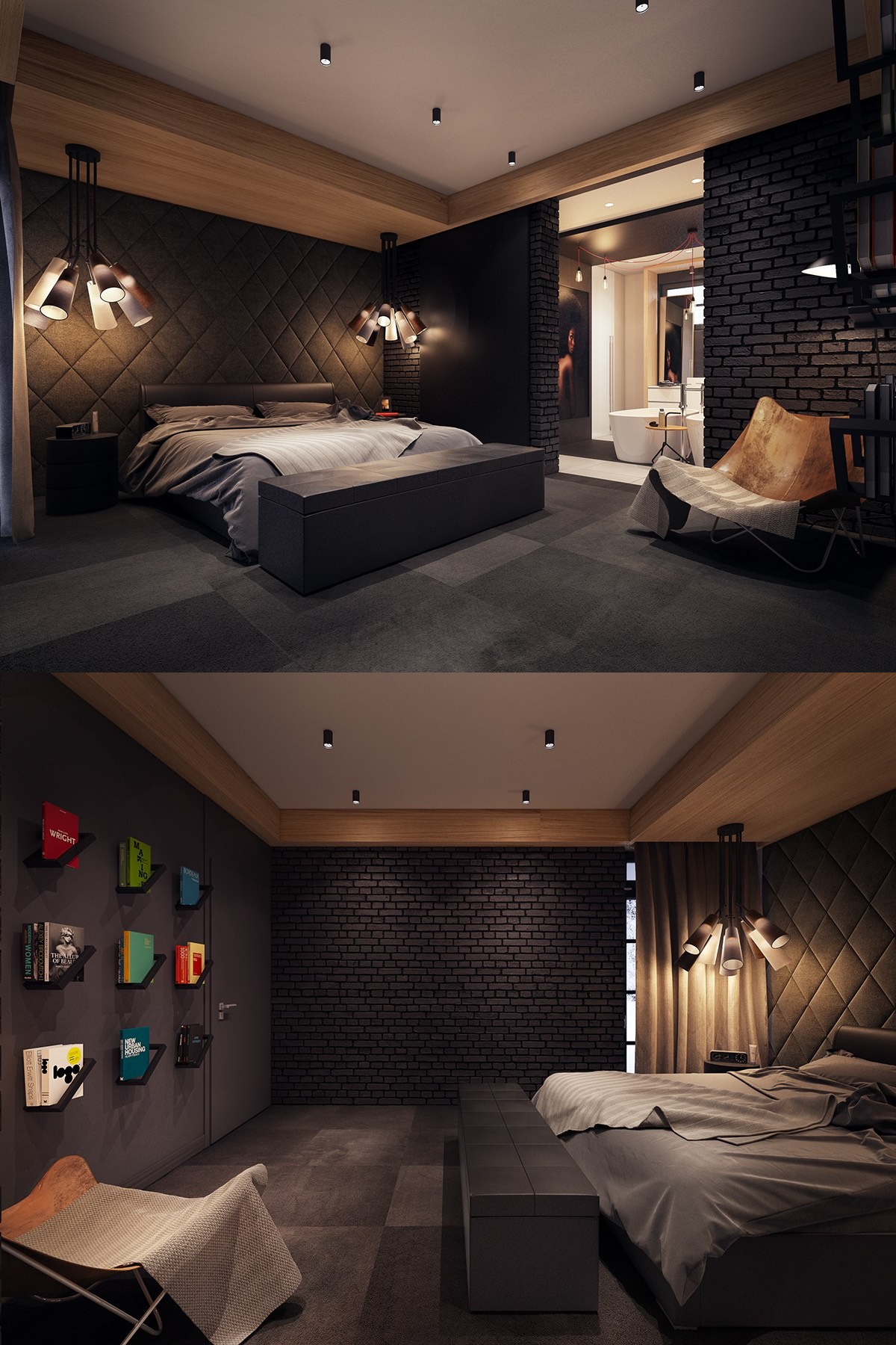 Best Dark Color Bedroom Decorating Ideas Shows A Luxury And This Month