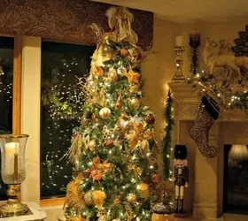 Best Golden Elegance Christmas Decor Hometalk This Month