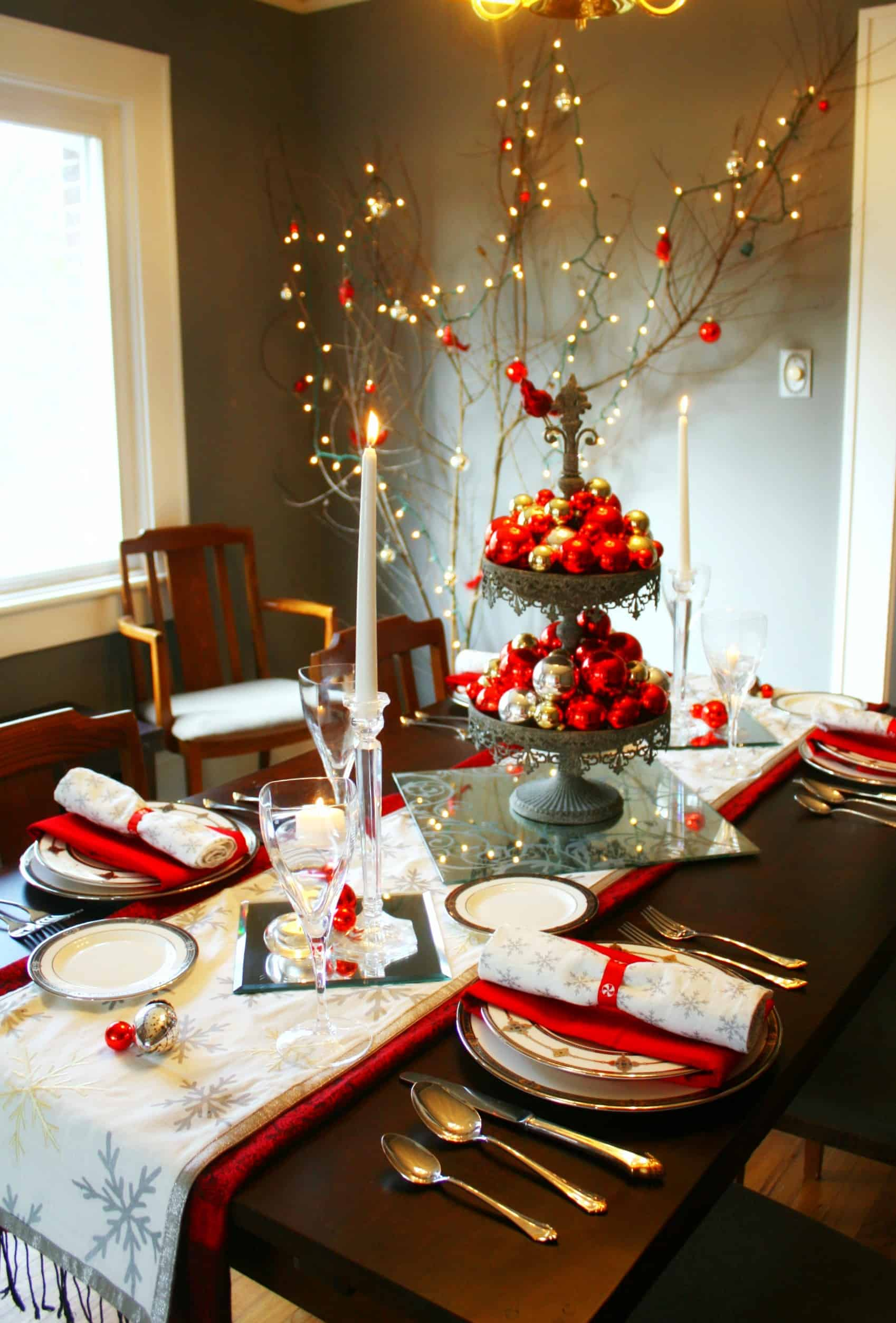 Best 20 Wonderful Christmas Dinner Table Settings For Merry This Month