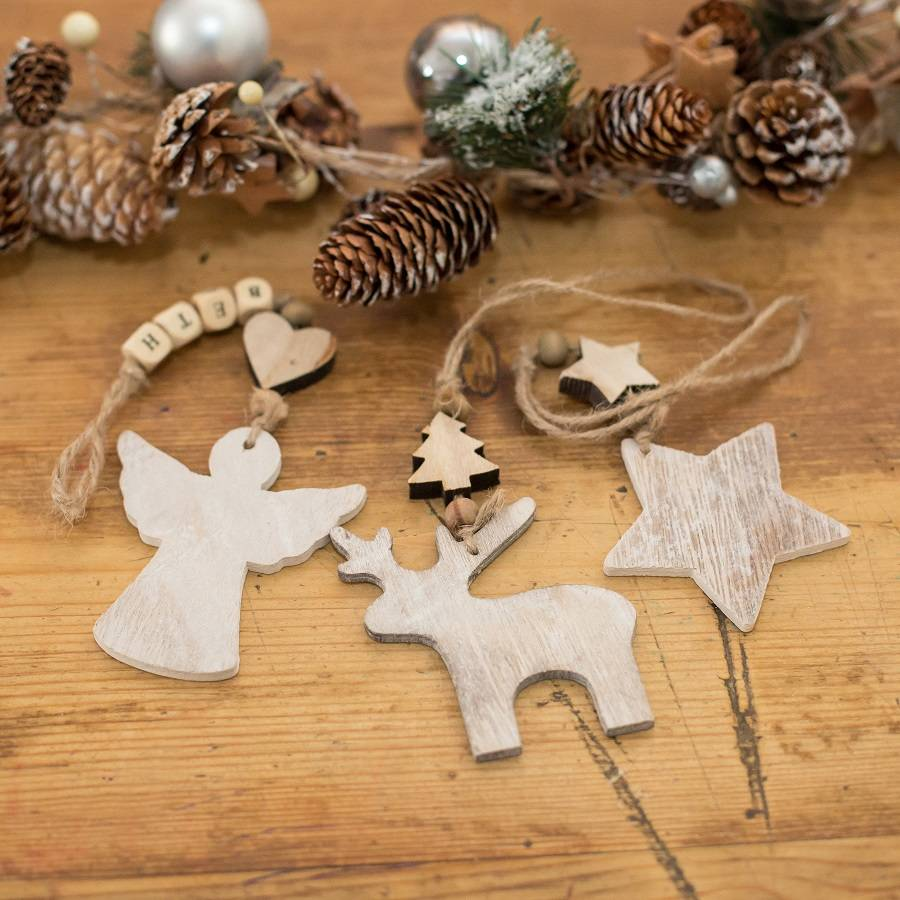 Best Personalised Wooden Christmas Decoration By Harmony At This Month
