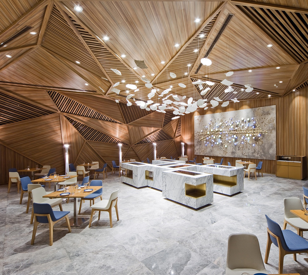 Best A Portrait Of Chengdu Panorama Designs Yue Restaurant This Month