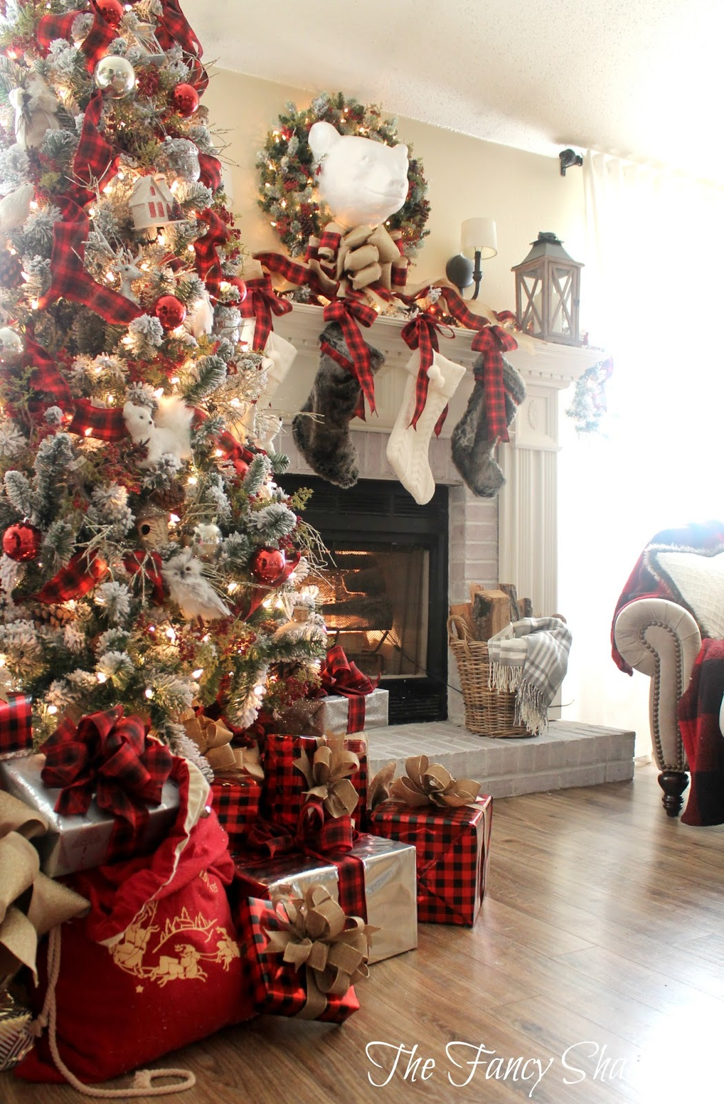 Best The Fancy Shack Christmas Home Tour 2015 This Month