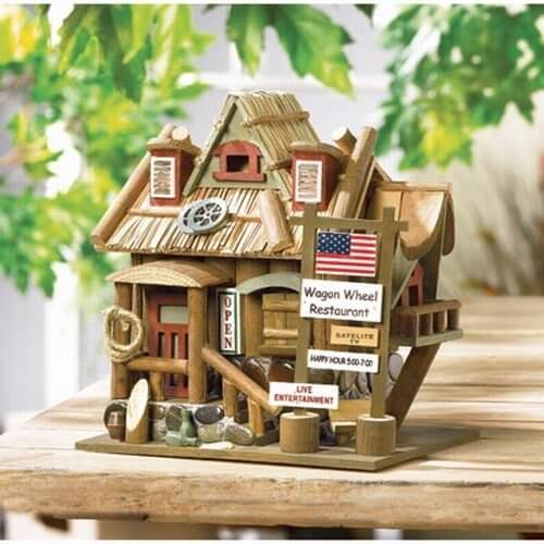 Best 78 Decorative Painted Outdoor Wooden Bird Houses Photos This Month