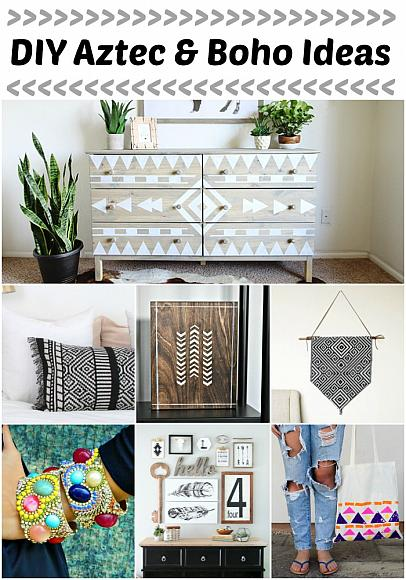 Best Decoart Blog Trends Diy Aztec And Boho Ideas This Month