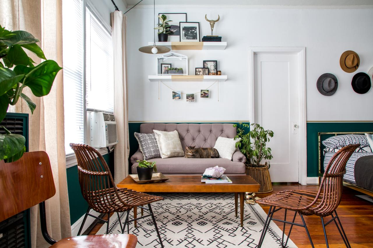 Best 12 Clever Ideas For Laying Out A Studio Apartment Hgtv S This Month