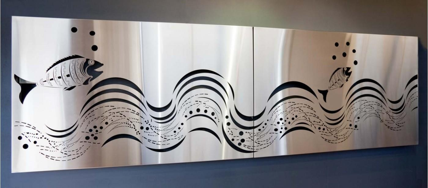 Best 20 Ideas Of Stainless Steel Outdoor Wall Art Wall Art Ideas This Month
