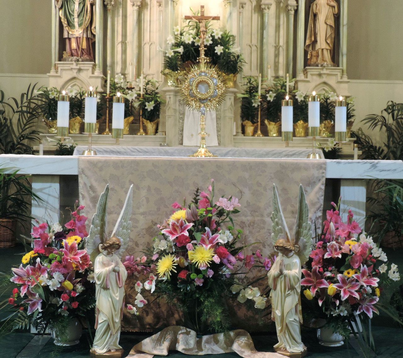 Best Father Julian S Blog Easter Decorations At St Francis This Month