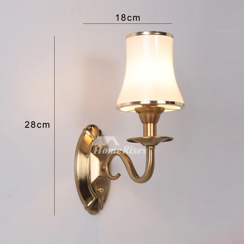 Best Bathroom Wall Sconce 2 Light Hardware Glass Decorative This Month
