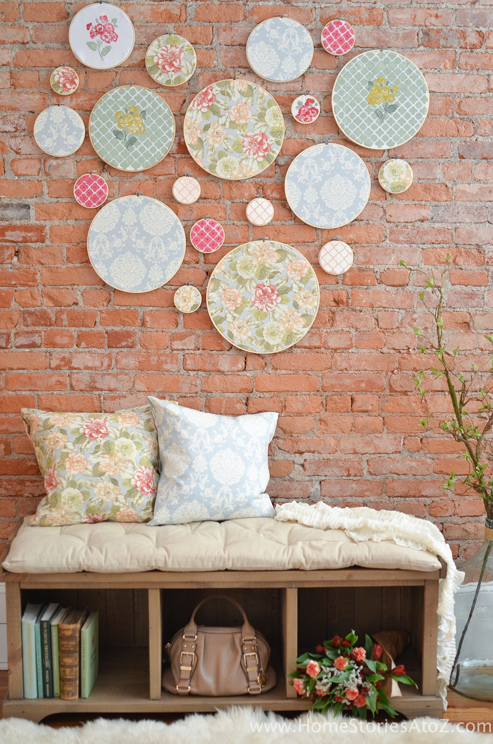 Best Diy Embroidery Hoop Wall Art Home Stories A To Z This Month