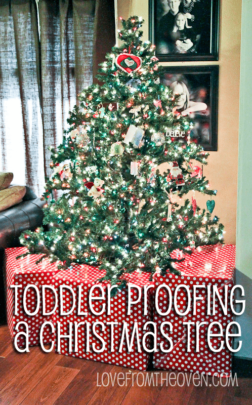 Best Ideas For Baby Toddler Pet Proofing Your Christmas Tree This Month