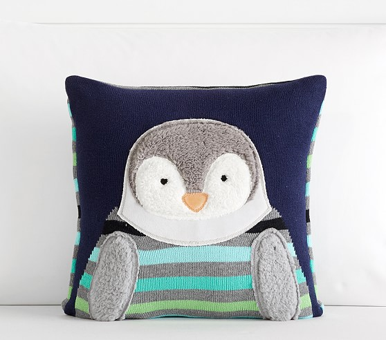 Best Preppy Penguin Decorative Pillow Pottery Barn Kids This Month