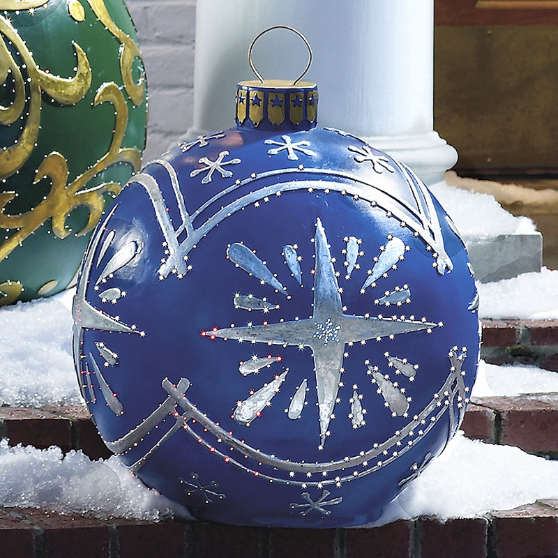 Best Massive Outdoor Lighted Christmas Ornaments This Month