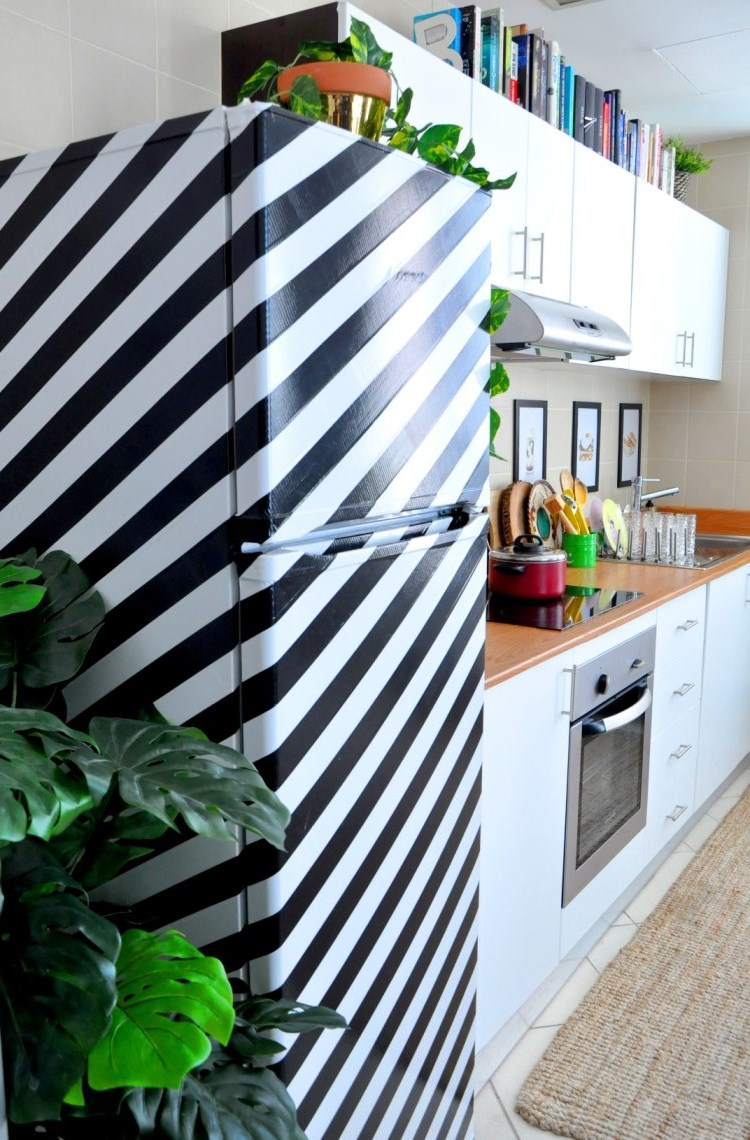 Best Kitchen Projects Part 1 The Duct Tape Refrigerator And This Month