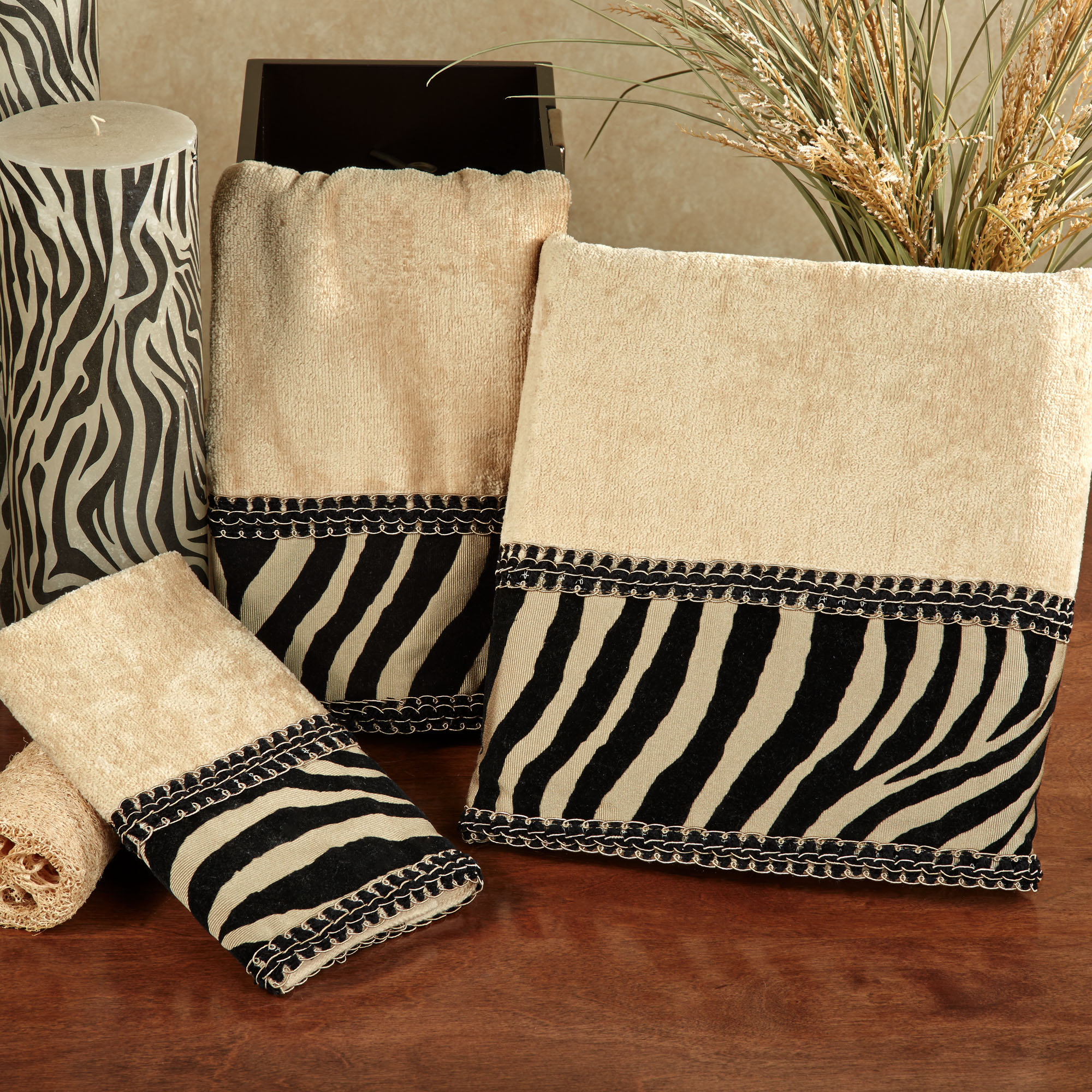 Best Zuma Zebra Decorative Towel Set This Month
