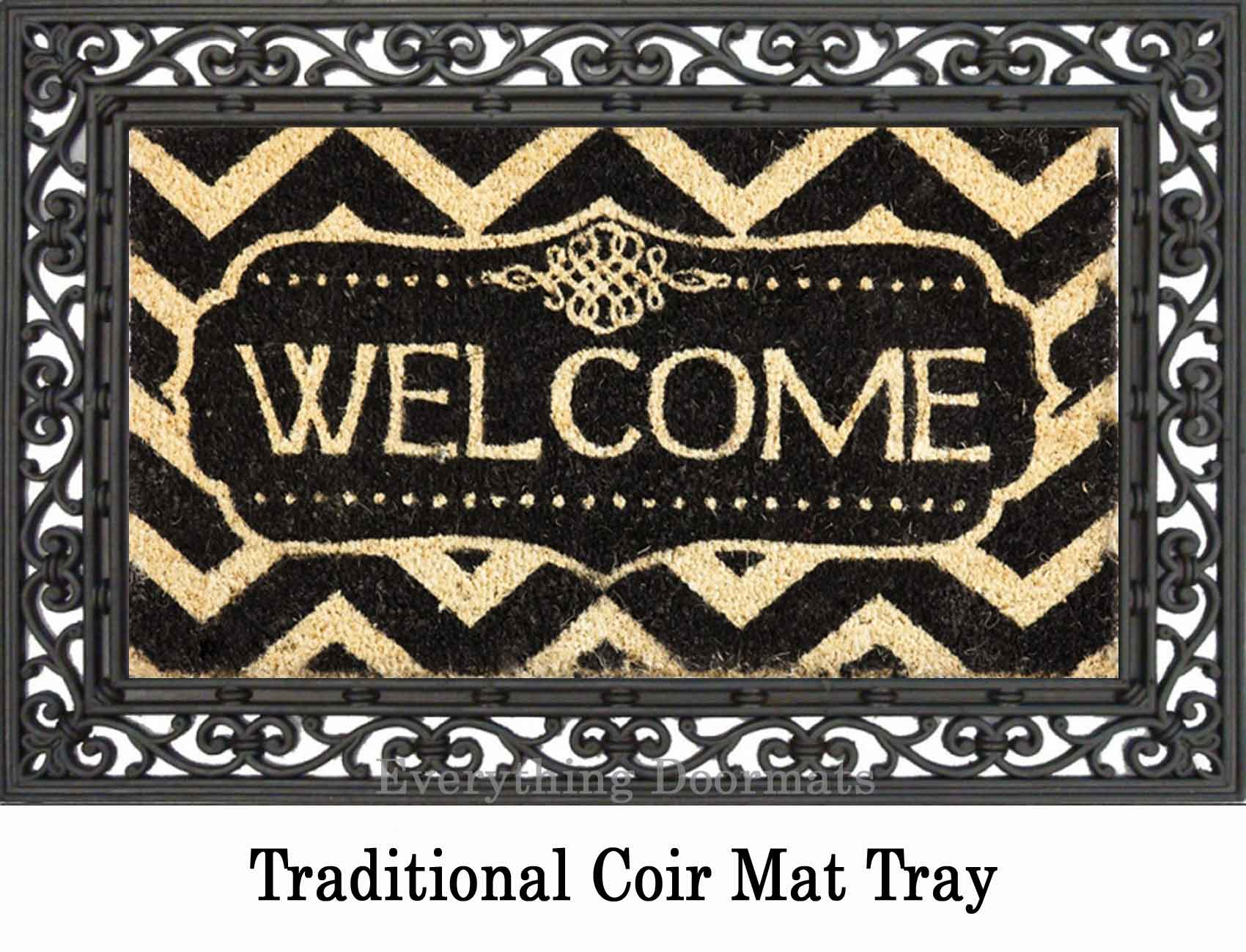 Best Coco Coir Decorative Welcome Backed Doormat 16 X 28 This Month