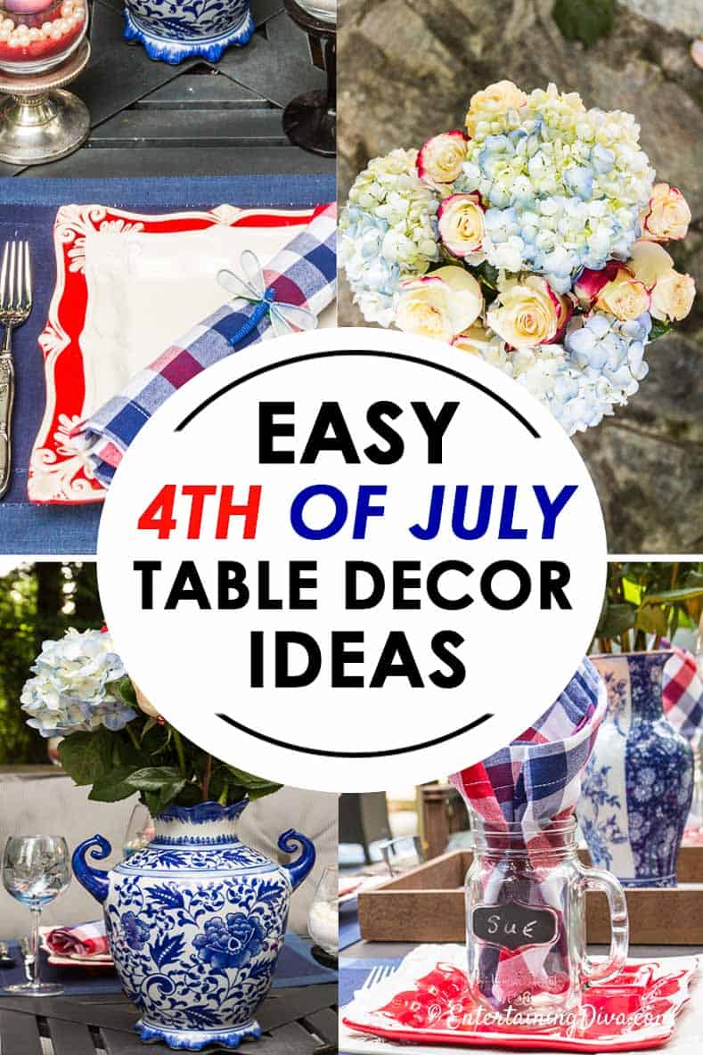 Best Easy Patriotic 4Th Of July Table Decorations You Ll Want This Month
