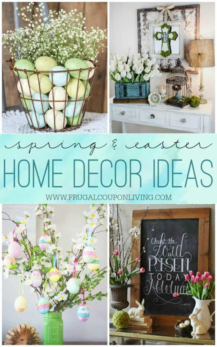 Best Spring Easter Home Decor Ideas This Month