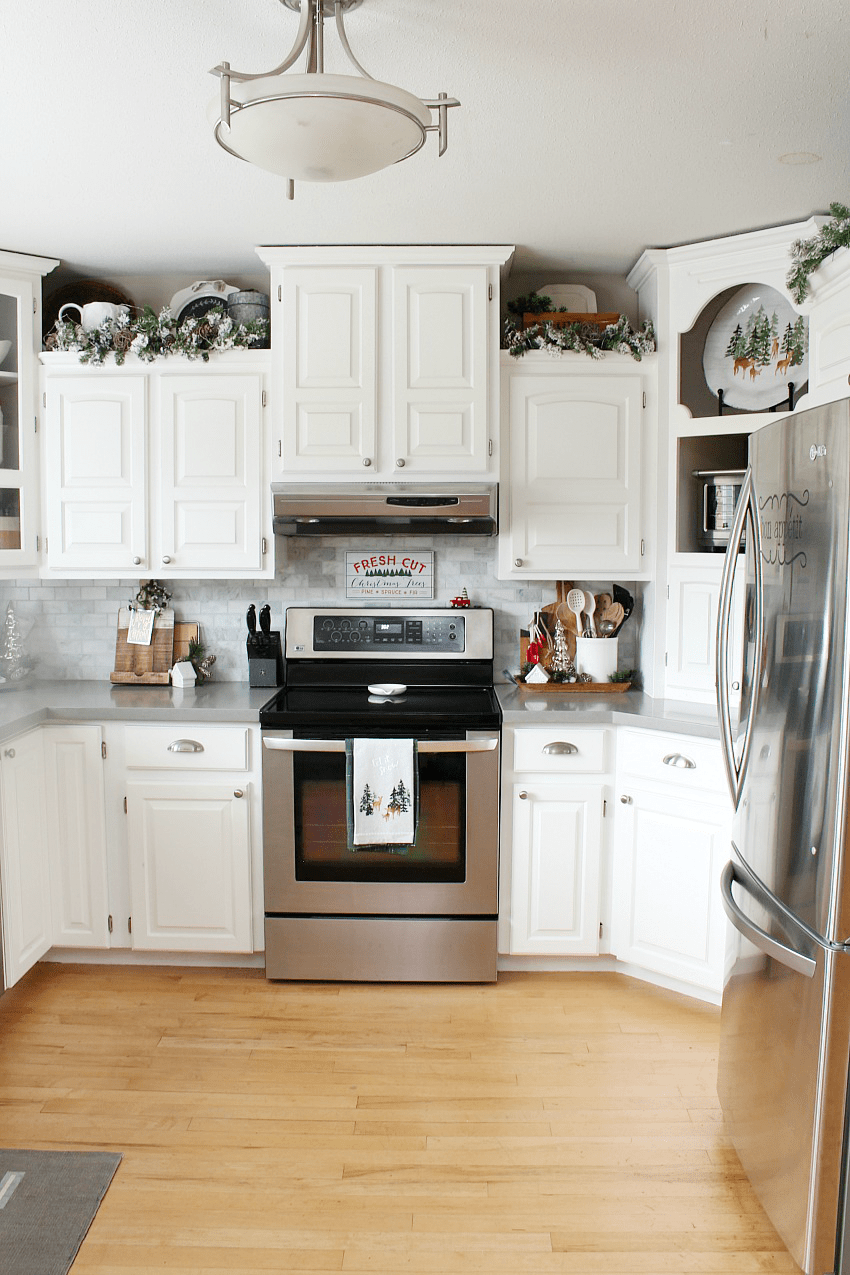 Best Christmas Kitchen Decorating Ideas Clean And Scentsible This Month