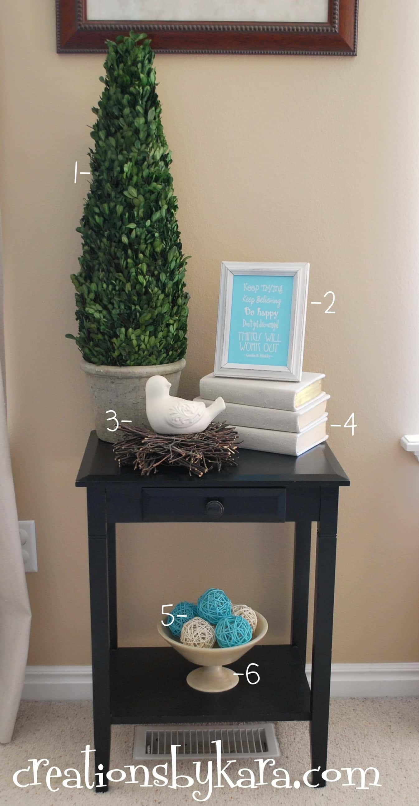 Best Diy Decorating Living Room Table Creations By Kara This Month