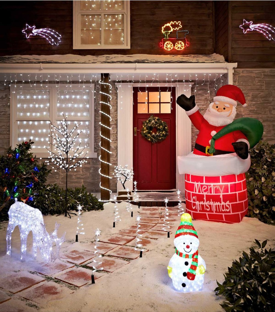 Best 50 Best Outdoor Christmas Decorations For 2016 This Month
