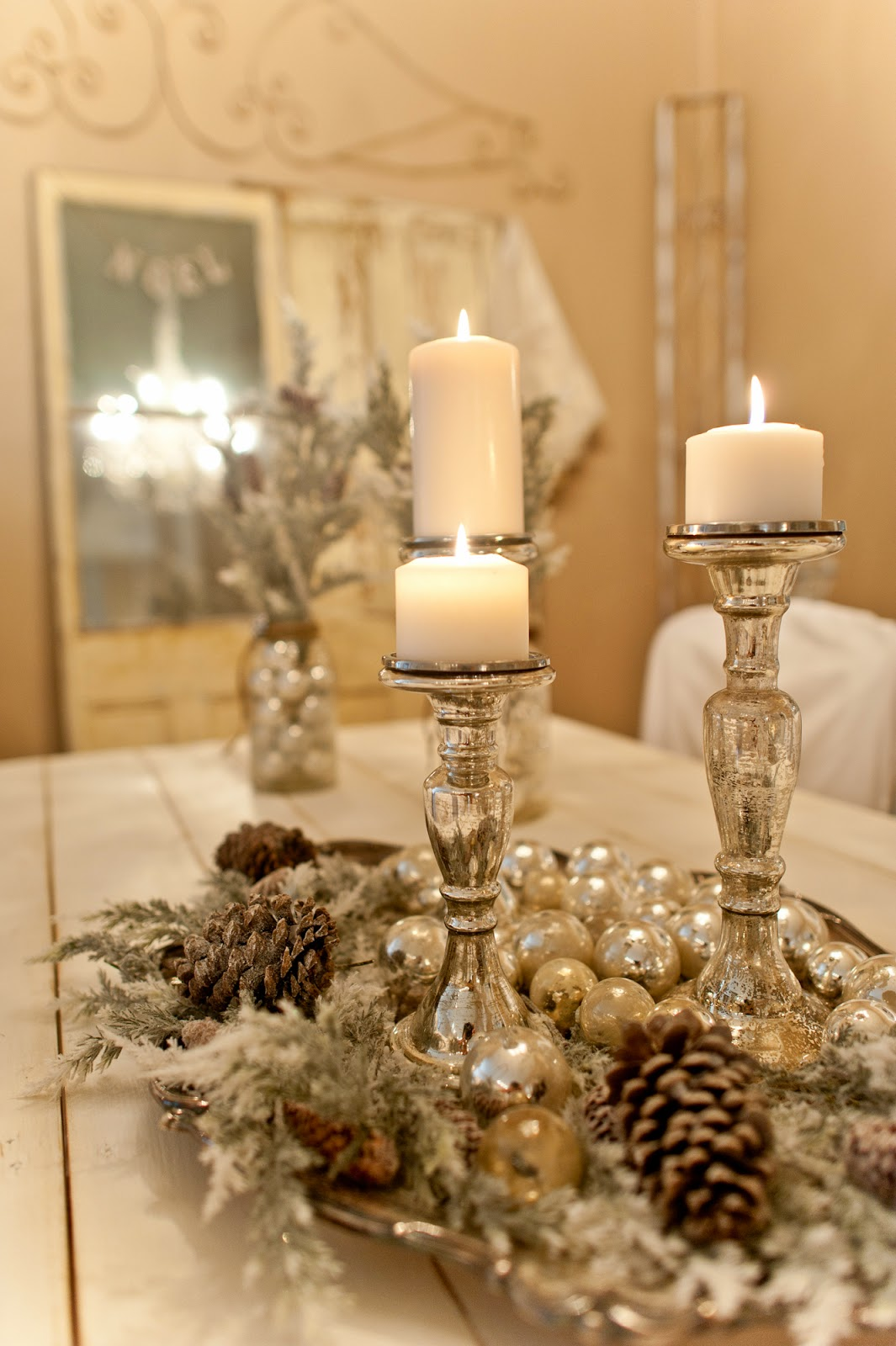 Best 50 Best Diy Christmas Table Decoration Ideas For 2019 This Month