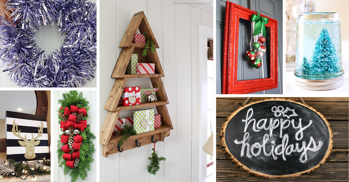 Best 33 Best Diy Christmas Decorations Ideas And Designs For 2019 This Month