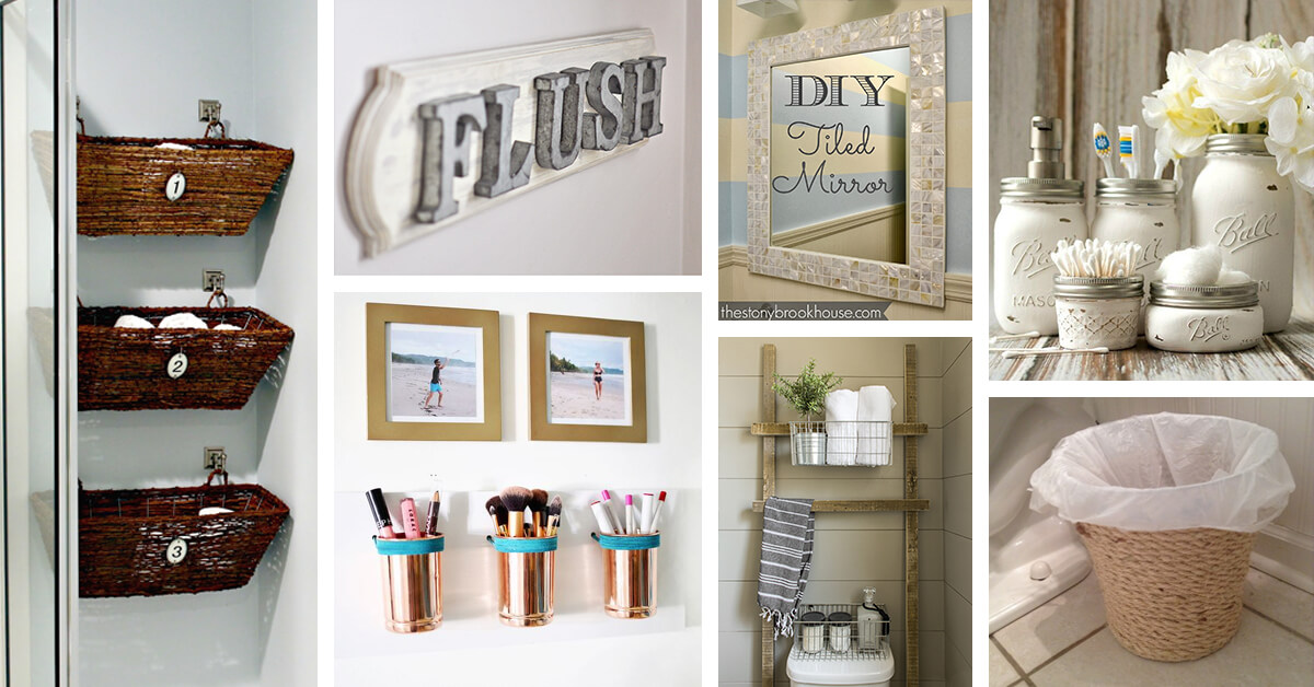 Best 26 Best Diy Bathroom Ideas And Designs For 2019 This Month